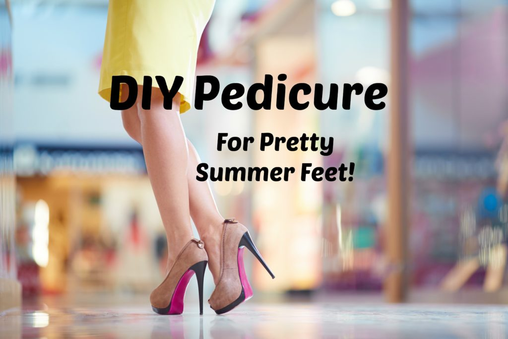 DIY Pedi for Pretty Summer Feet!