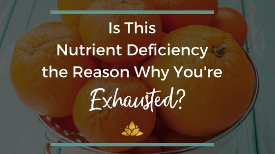 Is This Nutrient Deficiency the Cause of your thyroid and adrenal fatigue? Learn about the nutrient that can put a stop to your fatigue and fix your thyroid for good!