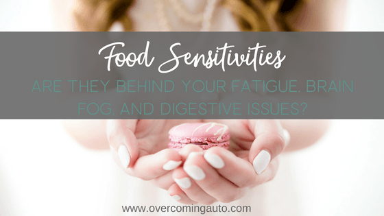 Food Sensitivities are often at the root of fatigue, thyroid problems, hypothyroidism, adrenal fatigue and many other health issues. Get to the bottom of your food sensitivities with an elimination diet like AIP.
